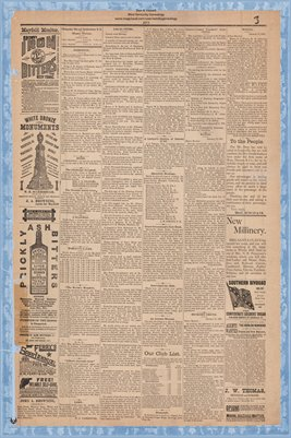 (PAGES 3-4) Mayfield Monitor, Jan. 16, 1885, Graves County, Kentucky