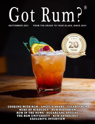 """""""Got Rum?"""" September 2021"""