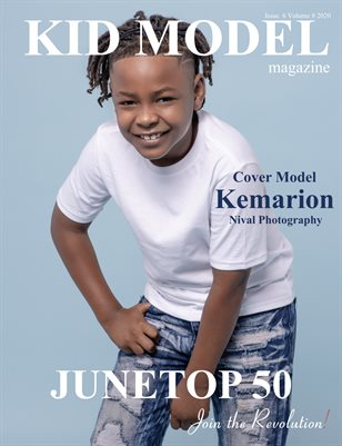 Kid Model Magazine Issue 6 Volume 8 2020
