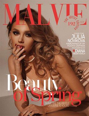 MALVIE Magazine The Artist Edition Vol 192 April 2021