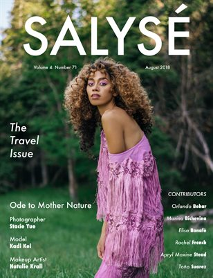 SALYSÉ Magazine | Vol 4 : No 71 | August 2018