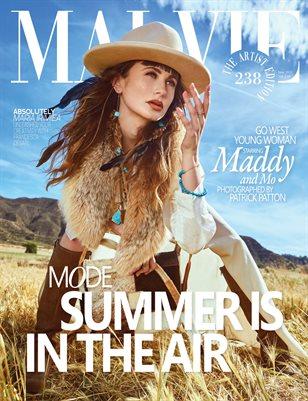 MALVIE Magazine The Artist Edition Vol 238 June 2021