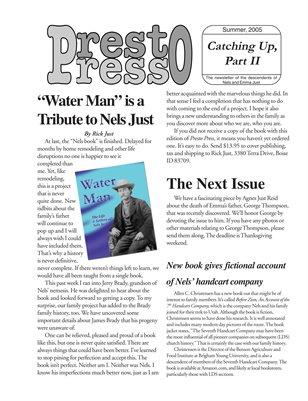 Presto Press, Spring 2005