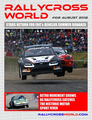 Rallycross World #102 August 2012