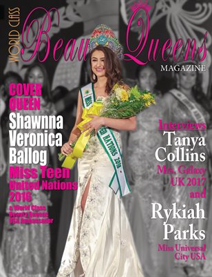 World Class Beauty Queens Magazine with Shawnna Veronica Ballog