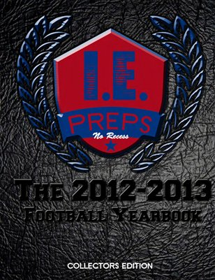 "The I.E. Preps Magazine Yearbook, ""Year In Pictures"""