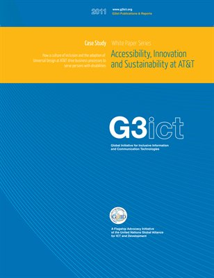 Accessibility, Innovation and Sustainability at AT&T