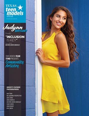 Texas Teen Models Official Magazine - August 2020 - Vol. 35