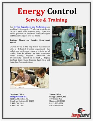 Energy Control: Service & Training