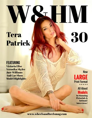 Wheels and Heels Magazine Issue 30 - Tera Patrick