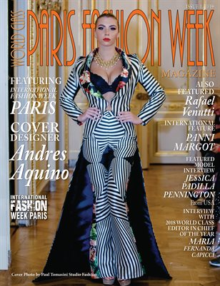 World Class Paris Fashion Week Magazine Issue 1 with Andres Aquino