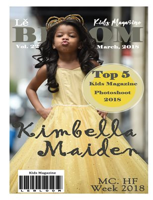Le Bloom Kids Magazine Kimbella Maiden