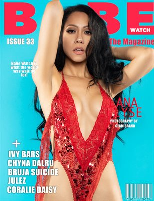 BABE WATCH MAGAZINE ISSUE 33 FT. LANA