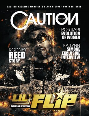 CAUTION MAGAZINE PREMIERE ISSUE! FREE DIGITAL NOW OR ORDER YOUR PRINT ISSUE!