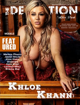 TDM: After Dark Khloe Khann Cover November 2019
