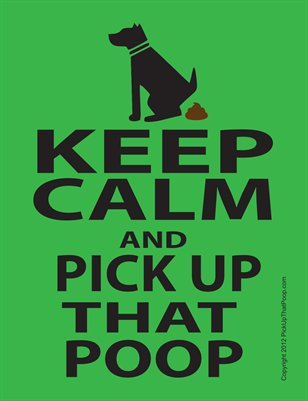 Keep Calm and... Flyer