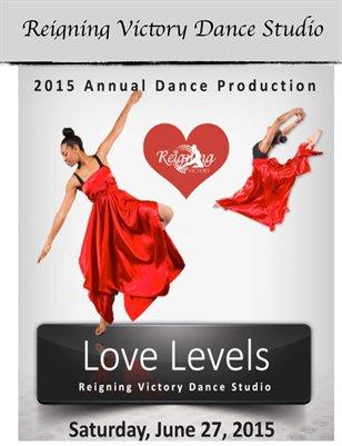Souvenir Book Love Levels 2015