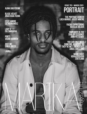 MARIKA MAGAZINE PORTRAIT (ISSUE 753- MARCH)