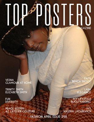 TOP POSTERS MAGAZINE- FASHION APRIL (vol 298)