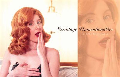 Vintage Unmentionables