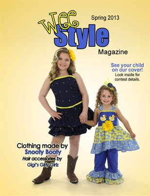 Wee Style Magazine Spring 2013 Issue
