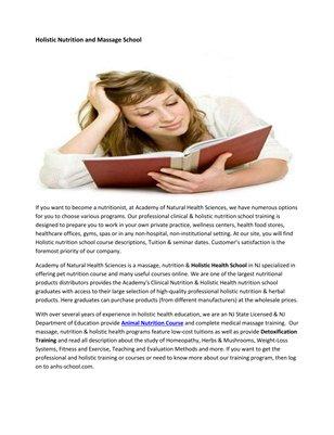 Aromatherapy Schools