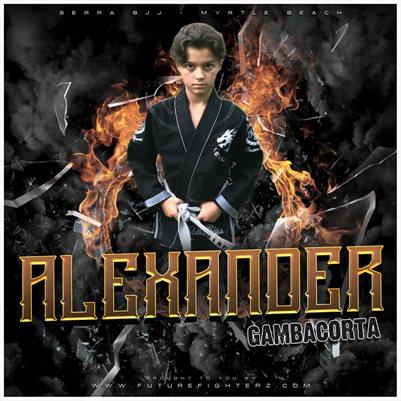 Alexander Gambacorta 8X8 Comp Card