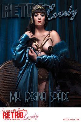 Mx. Regina Spade Cover Poster RL144