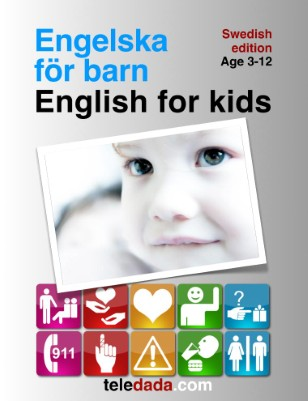 English for kids. Swedish edition. Engelska för barn.