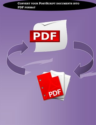 Convert your PostScript documents into PDF format