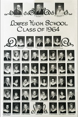 Class of 1964, Lowes High School, Graves County, Kentucky