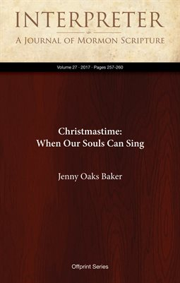 Christmastime: When Our Souls Can Sing