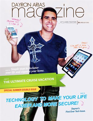 Dayron Arias Magazine - June/July 2012