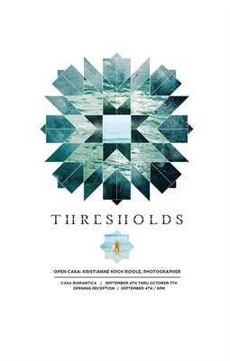Thresholds Exhibition Brochure