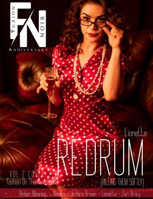 Fuzion Noir: 6yr Anniversary Lionette Vol.2 Cover2