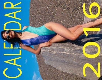 CALENDAR FOR 2016 . Swimwear.