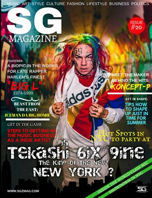 The Official Scrilla Guerillaz Magazine issue #20