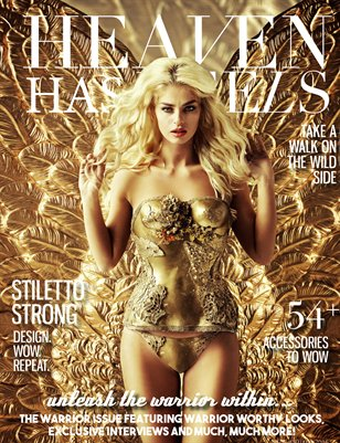 Heaven Has Heels | Warrior Issue 2016