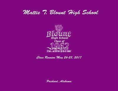 Mattie T. Blount HS Class of '62 Class Reunion