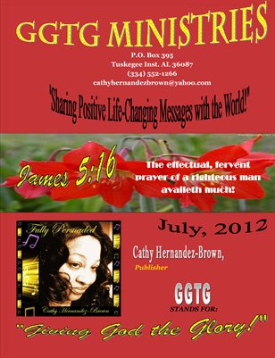 GGTG Ministries' July 2012 Newsletter