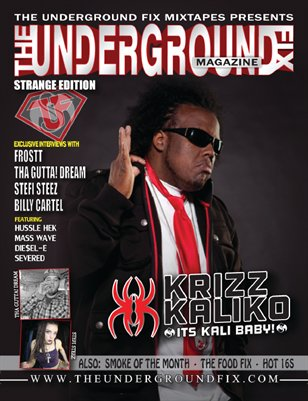The Underground Fix Magazine 'Strange Edition'