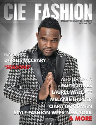 CIE Fashion Magazine Feat. Darius McCrary Jan/Feb 2018