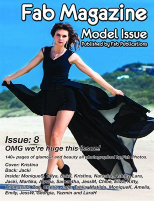 Fab Magazine Model Issue 8