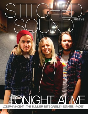 Stitched Sound Print Issue 5: Tonight Alive