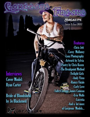 Gorgeous Freaks Magazine Male Cover Issue 3