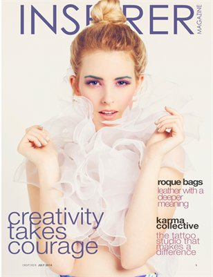 INSPIRER Magazine no. 14 (Creativity Takes Courage)