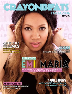 CrayonBeats Magazine: Issue 05 (Emi Maria cover)