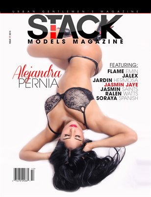 Stack Models Magazine Issue 17 Alejandra Pernia Cover