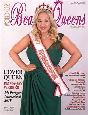 World Class Beauty Queens Magazine Issue 96 with Emma-Jay Webber