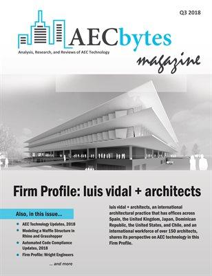AECbytes Magazine Q3 2018